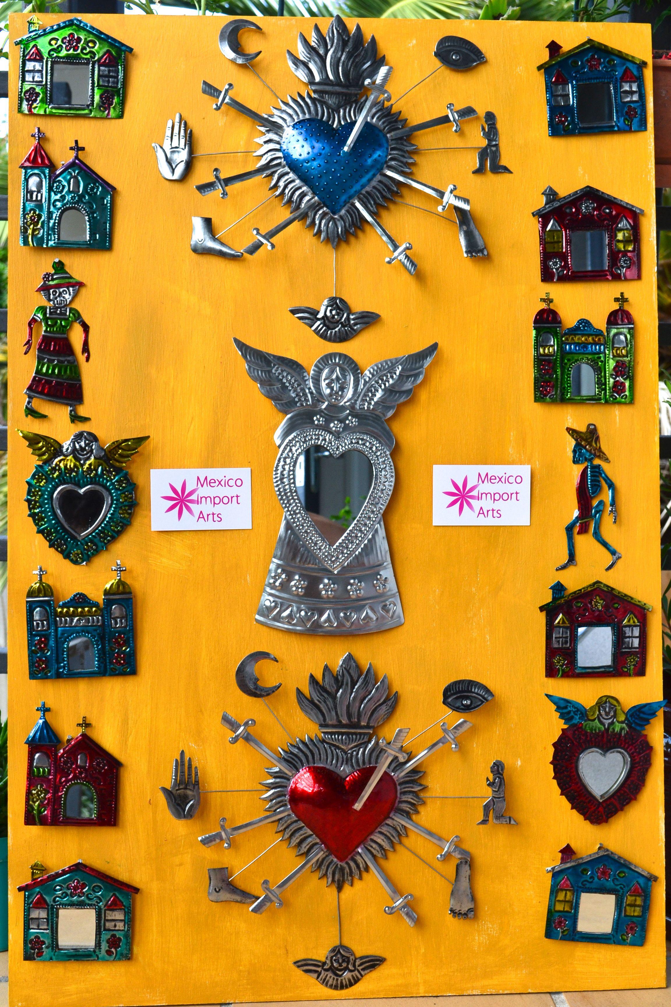 Mexican handmade tin art | Mexico lindo y querido | Pinterest | Tin ...