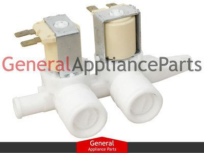 Ge General Electric Washer Water Dual Inlet Valve Wh13x10024 Wh13x86 Wh13x0086ge General Electric Washer Water Dual Inlet Valve Valve
