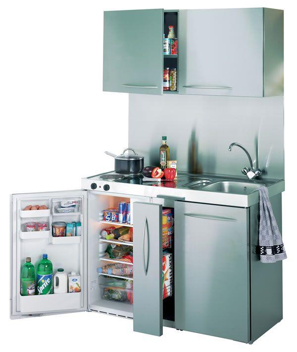 Cocinas peque as para espacios reducidos mueble despensa for Cocinas para espacios pequenos