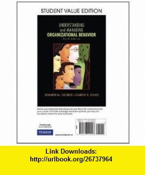 Understanding and managing organizational behavior student value understanding and managing organizational behavior student value edition 6th edition 9780136124498 fandeluxe Choice Image
