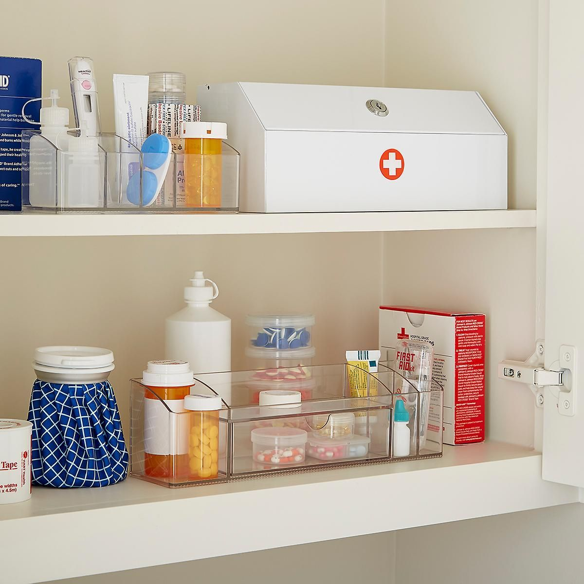 Linus Cabinet Organizer with Drawer | The Container Store ...