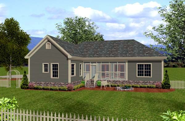 Craftsman Style House Plan 92385 With 3 Bed 3 Bath 3 Car Garage Craftsman Style House Plans Craftsman House Ranch Style Homes