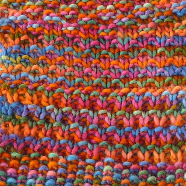 Multi-colored Yarns: Simpler Is Better | Variegated yarn ...