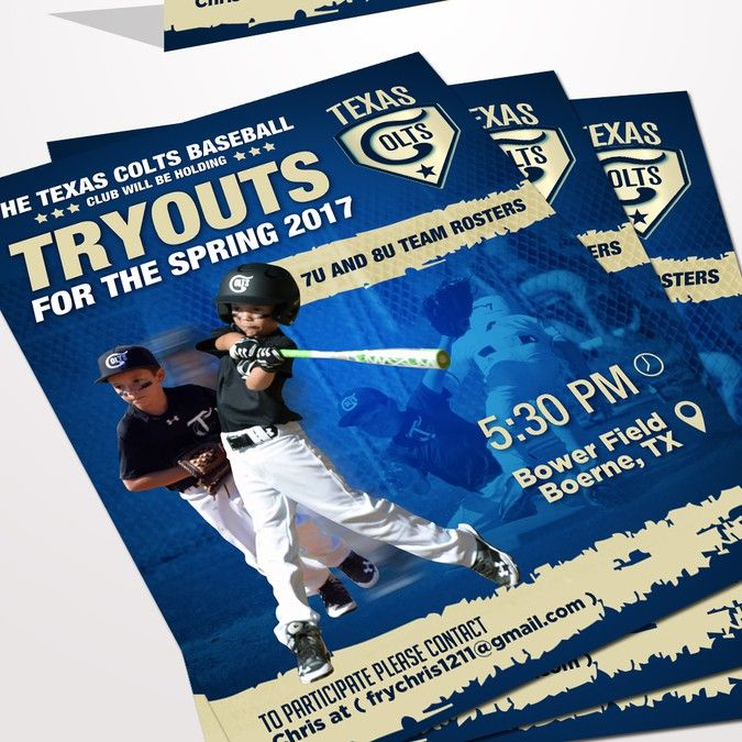 Create A Tryout Flyer For A Elite Youth Baseball Team By Graphical Soul Youth Baseball Baseball Baseball Team