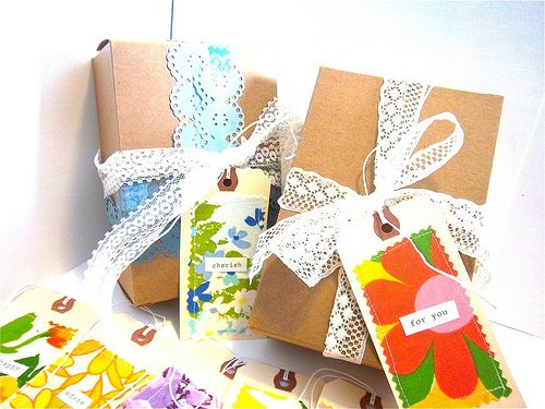 Fabric Gift Tags!