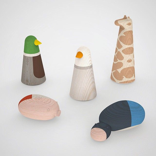 A Jens Fager Design Proposal. It's a shame they aren't able to produce these cute toy animal shapes.