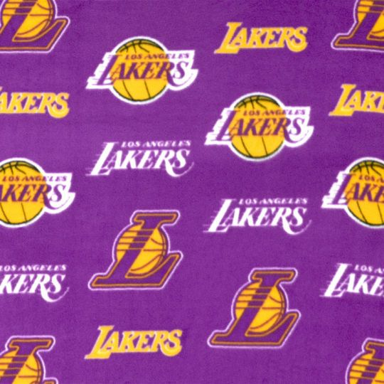 Character Licensed Fabric Los Angeles Lakers Basketball Los Angeles Lakers Lakers