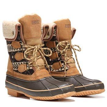 c4690babaa5 Khombu Macie Boot in Brown Sweater | Yuletide | Khombu boots, Boots ...