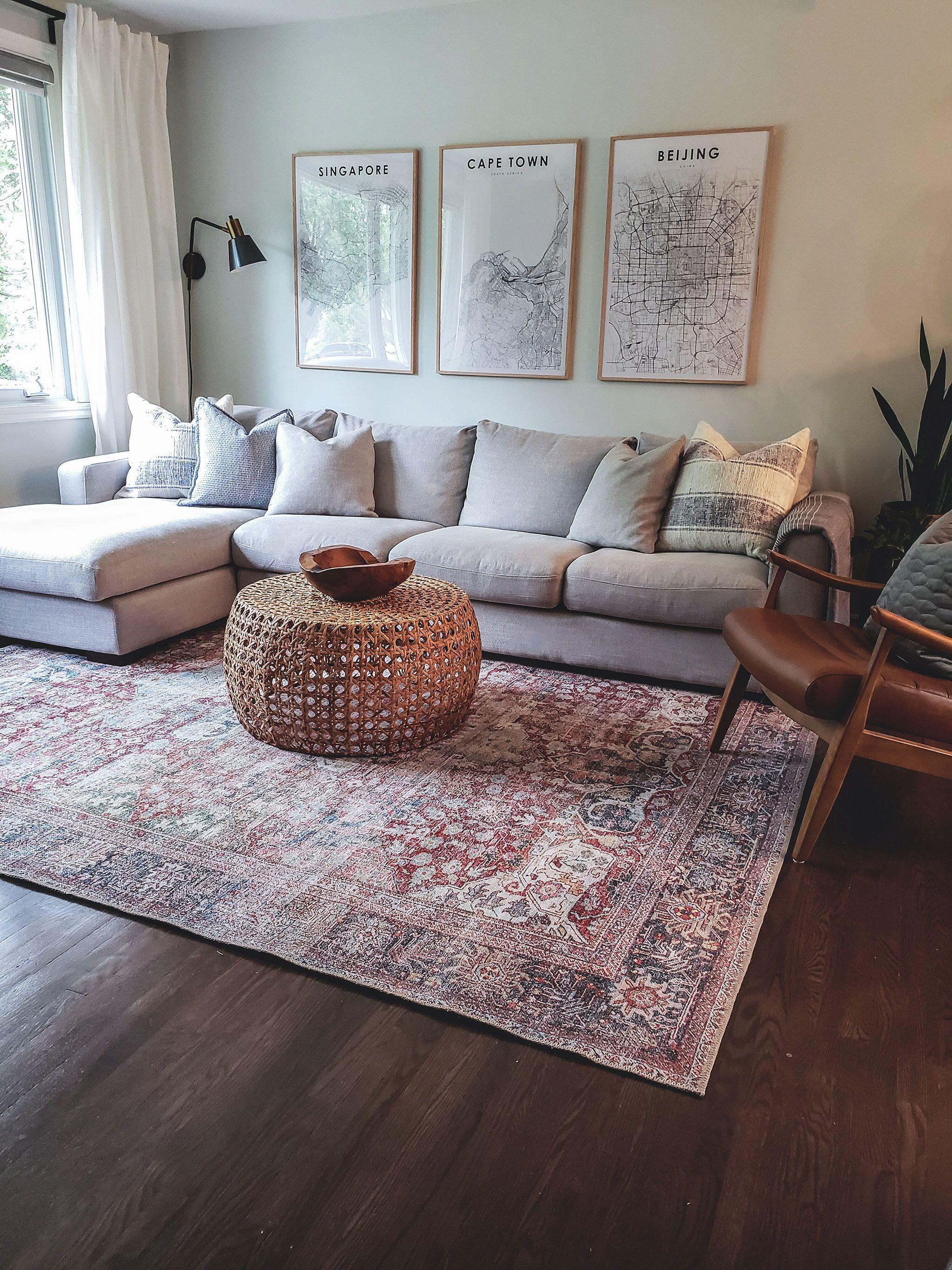 Asian Inspired Living Room asian inspired living room. swipe for the before
