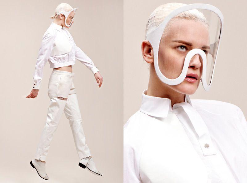 7674e5187a59 Isabell Yalda Hellysaz. Isabell Yalda Hellysaz London College Of Fashion ...