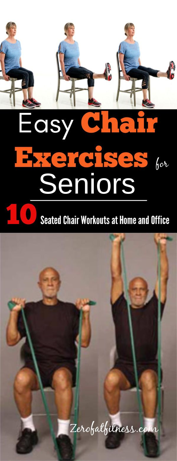 Simple Chair Exercises for Seniors 10 Seated Chair Workouts at Home and Office Now save yourself the trip to the gym start doing these simple chair exercises for senior f...