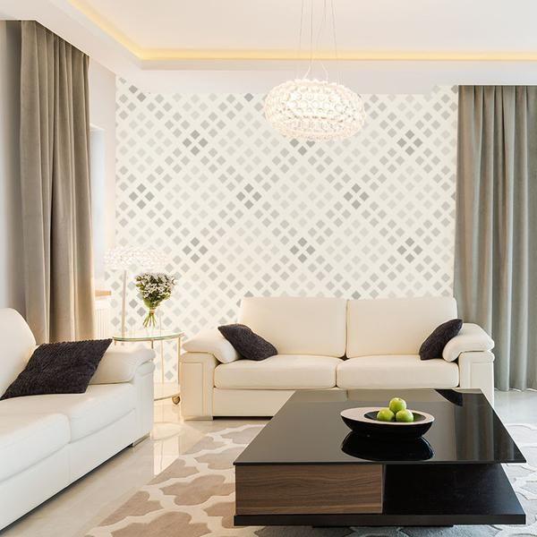 Natural Tone Plaid - Removable Wallpaper   Home decor ...