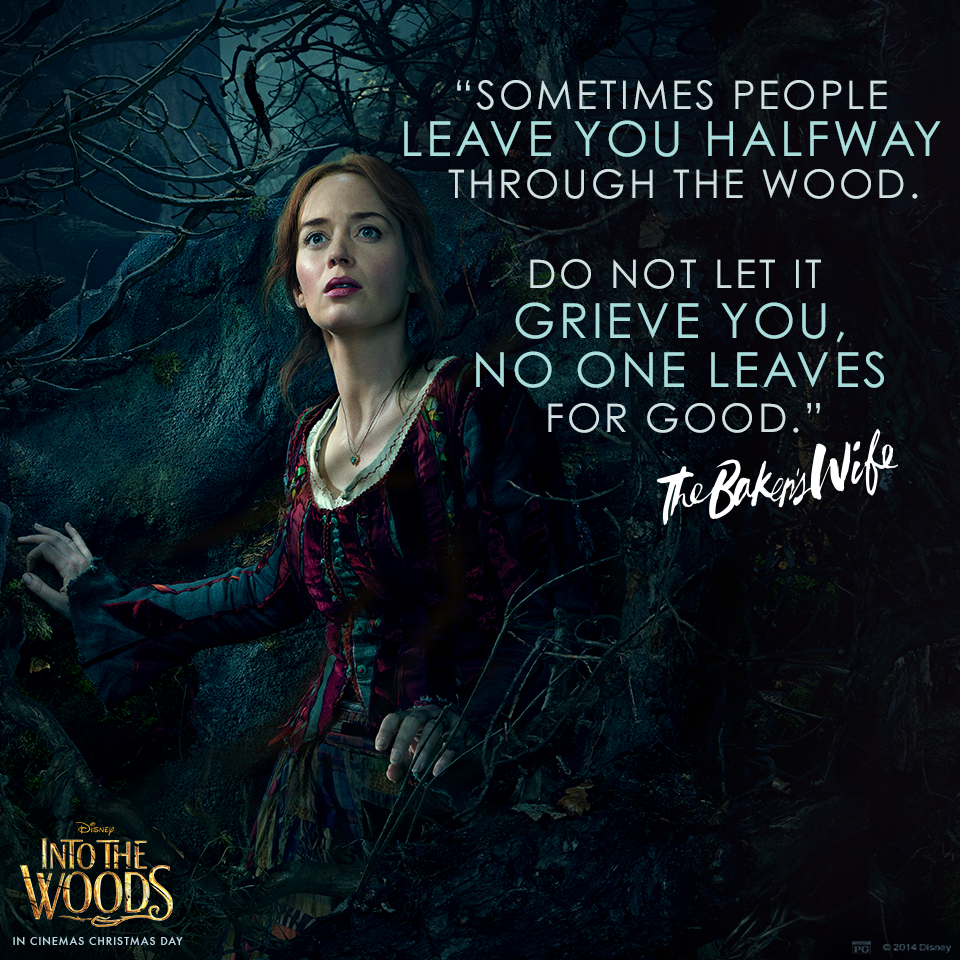 Into the Woods Movie Quotes / Broadway Musical Lyrics / ITW ...