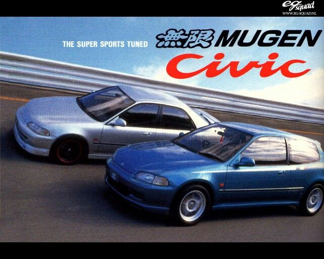 Jdm Honda Civic Hatch And Ferio With Mugen Options