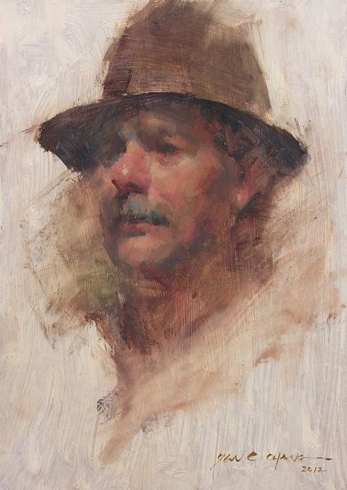 Brown Hat by Yen-Ching Chang was selected as a Finalist in the August 2012 BoldBrush Painting Competition.