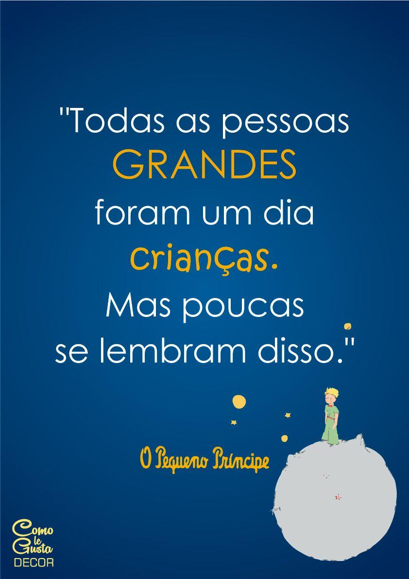 """Items Similar To The Little Prince Quote Inspirational: Faça Download De Graça Do Pôster """"O Pequeno Príncipe"""" Com"""