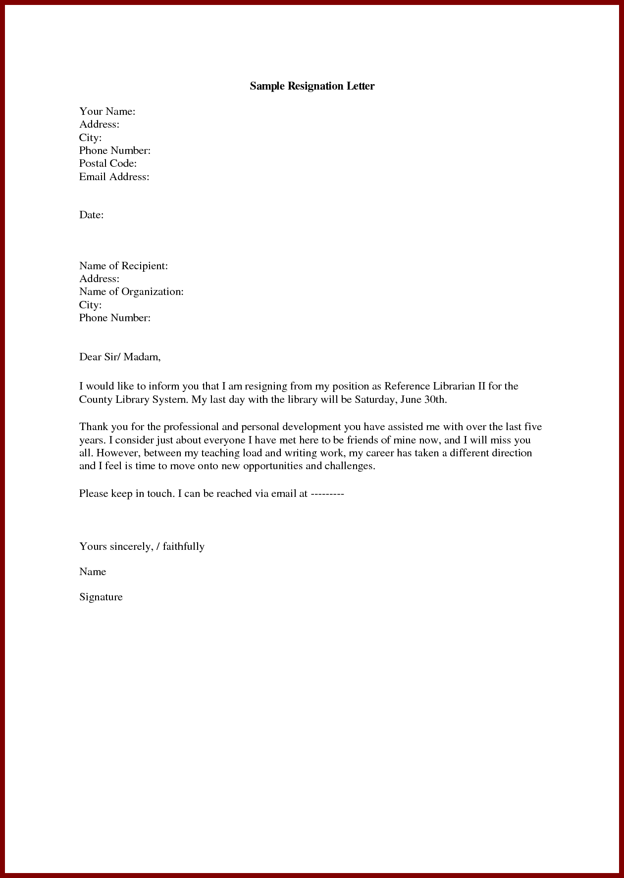 This Letter Intended To Be Customized In Microsoft Word Is To Be