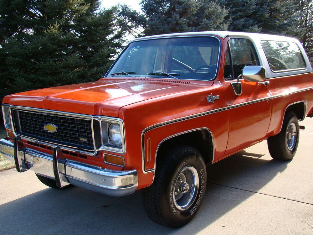 1974 Chevrolet Blazer Chevrolet Blazer Chevrolet Chevrolet Trucks