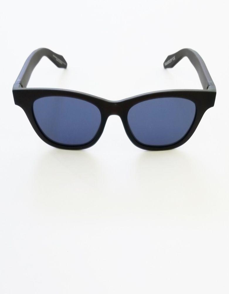 0cbcfeff5bf0 NWT Swatch Sunglasses Eyes of Leo SEE07WMC004 Blue Lens Dk Brown Frame   Swatch  wayfarer