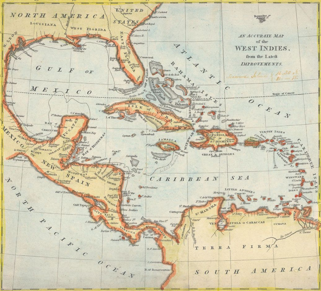Httpuliburarebooksimageswestindies1810g full explore the map west indies and more gumiabroncs Images