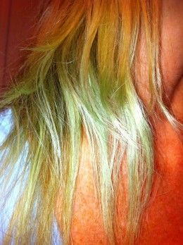 How To Fix Blonde Hair That Turned Green Blonde Hair Turned Green Green Hair Hair Tint
