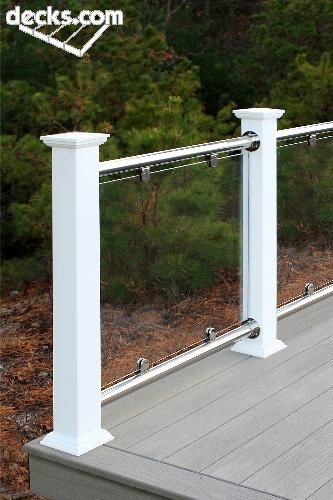 Glass Railing System Glass Balcony Glass Railing: Atlantis Rail Glass - Stainless Steel Railing System With Glass Infill