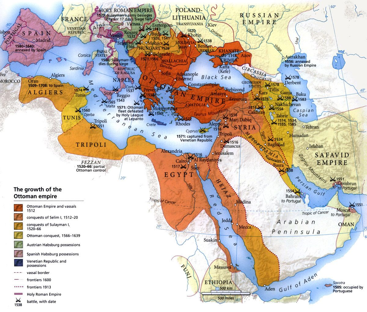 the growth of the ottoman empire ottoman empire