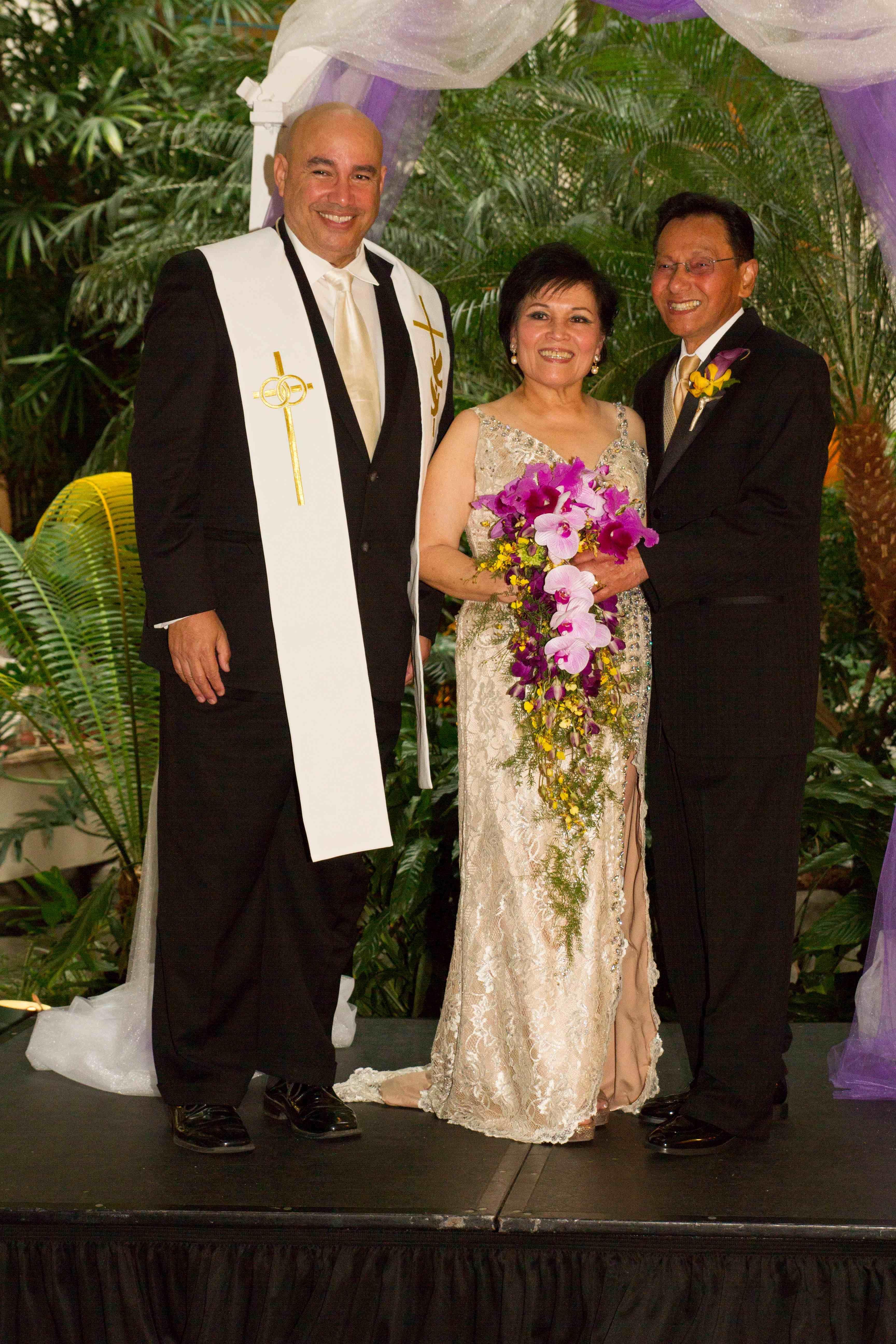 Filipino wedding, Vow