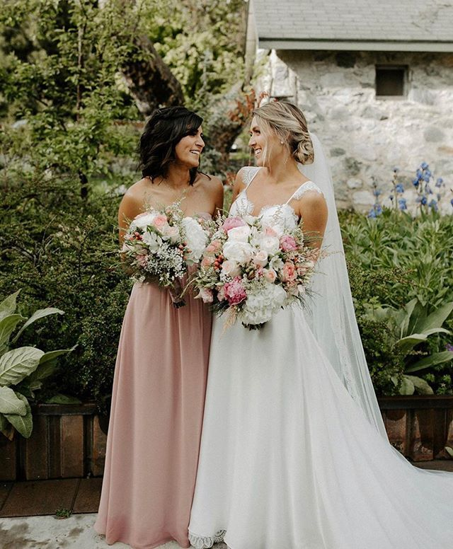 Romantic Rustic Wedding Inspo Featuring The Bride Wearing