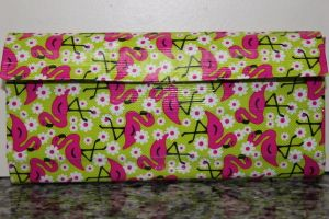 Duct Tape Wallet (Clutch) - Flamingo, $18. We are also on Etsy at: www.junorduck.ets....