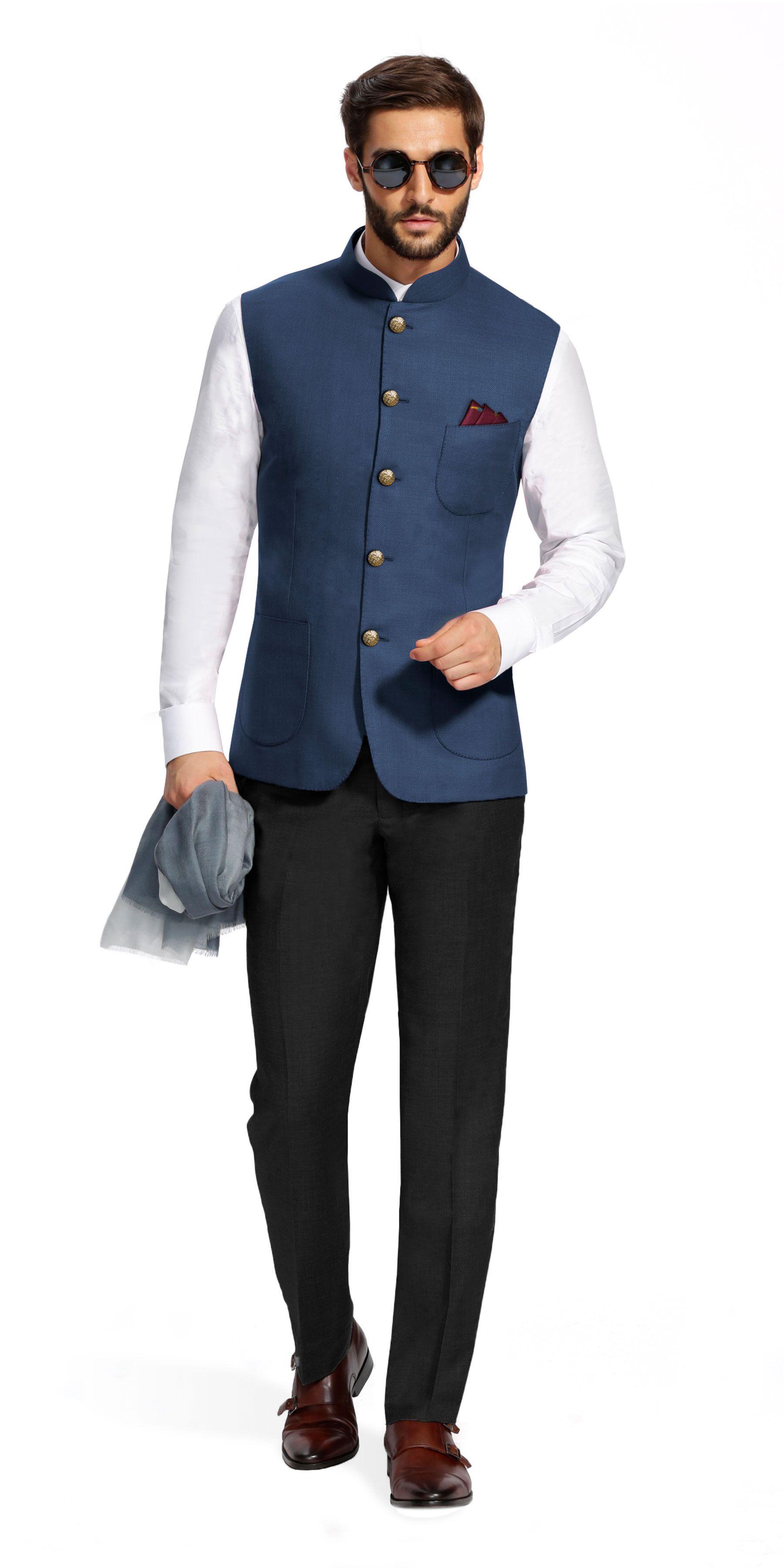 8db93ffa67f Nehru Jacket For Men · Iwaki Wedding Kurta For Men