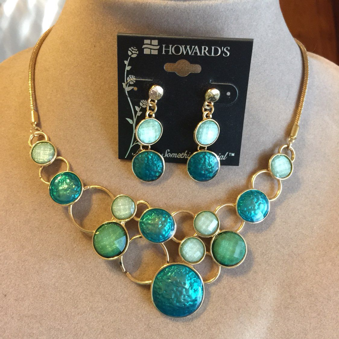 Howard necklace and earring set Mercari BUY & SELL