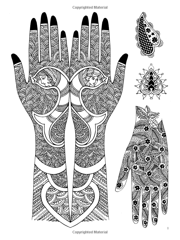 Mehndi Designs Traditional Henna Body Art Dover Pictorial Archive Marty Noble 860130029617 Mehndi Art Designs Full Mehndi Designs Mehndi Designs For Girls