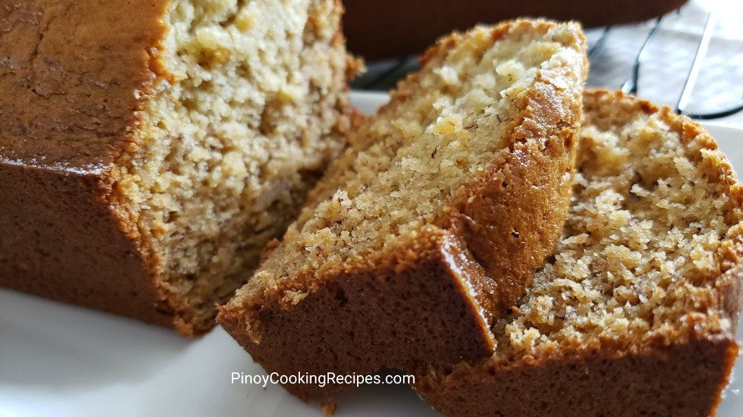 The Best Banana Bread Recipe Simple Ingredients No Sour Cream Or Any Buttermilk 2 Loafs For With Images Banana Bread Recipe Moist Banana Bread Recipes Easy Banana Bread