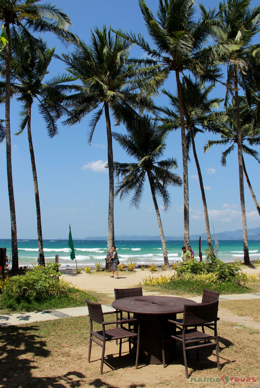 Mango Tours Sheridan Beach Resort Spa Puerto Princesa Palawan Sabang