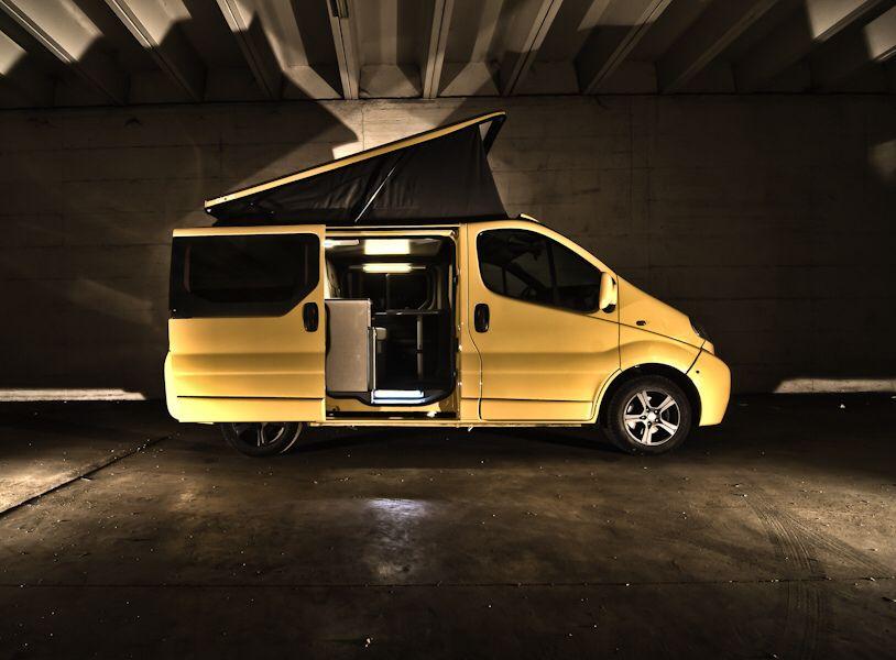 Opel Vivaro Camper Conversion