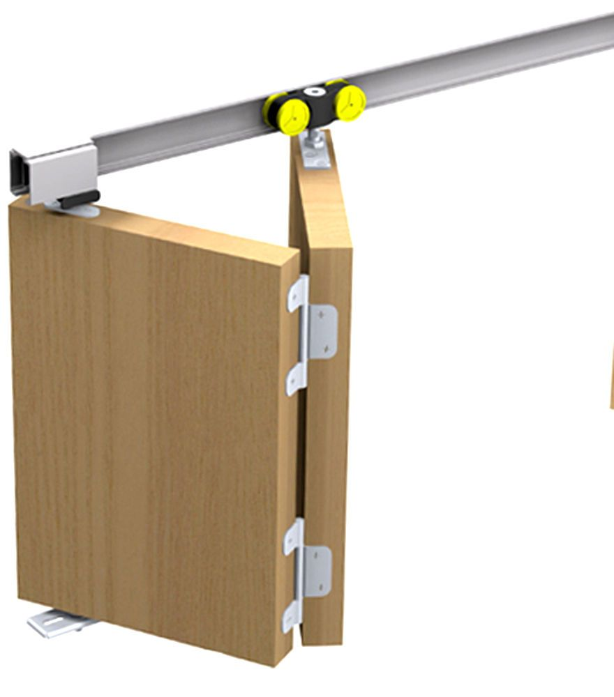 Schiebetürbeschlag Tango 40 150 für eine Falttür Faltschiebetür