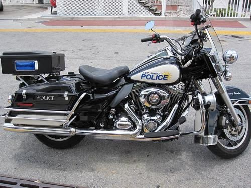 Key West PD, Florida - police motorcycle