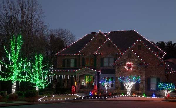 Top 23 Outdoor Christmas Lighting Ideas Illuminate The Holiday