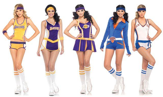 Hardcourt Nba Licenses Y Dance Team Costumes