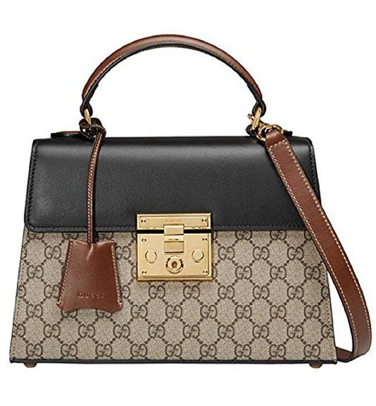 83c2f94f4940 Gucci Women's Padlock GG Supreme PVC Classic Tote Bag purse handbag for  Designer fashion style