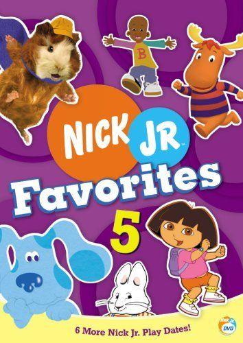 Nick Jr Favorites Vol 5 Dvd Nick Jr Favorites Http Www Amazon Com Dp B000lv6o1m Ref Cm Sw R Pi Dp Mvjbsb1gz87dw Nick Jr Childrens Movies Kids Dvd