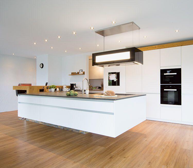 Horizon Forum glatt lackiert, verkehrsweiß zeyko Küchen - sockelleisten für küchen