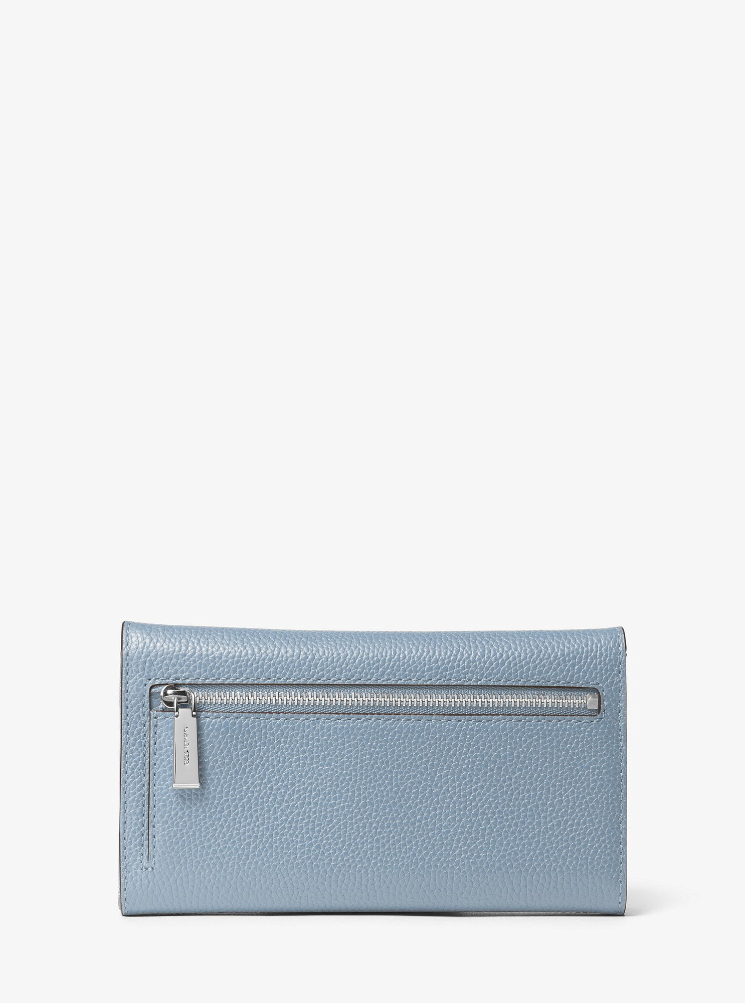 8658afd65745 Michael Kors Mercer Tri-Fold Leather Wallet - Pale Blue | Products ...