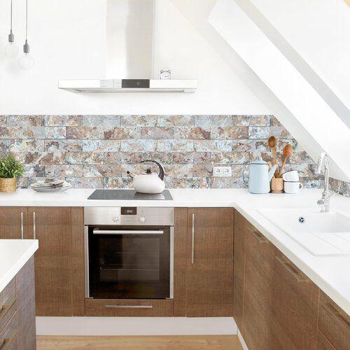 Photo of Ebern Designs PVC Spritzschutzpaneel Atalaya Naturmarmor | Wayfair.de