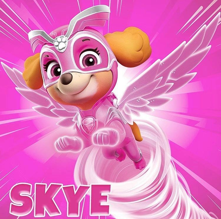 Quatang Gallery- Paw Patrol On Instagram Meet Mighty Skye She Has The Power To Create Whirlwinds Are You Ready For An All Ne Skye Paw Patrol Paw Patrol Paw Patrol Super Pup