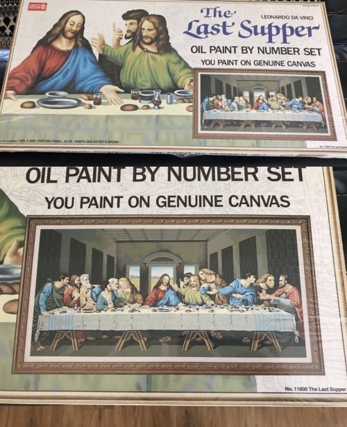 Paint By Numbers Kits 10900 Craft House The Last Supper Oil Paint