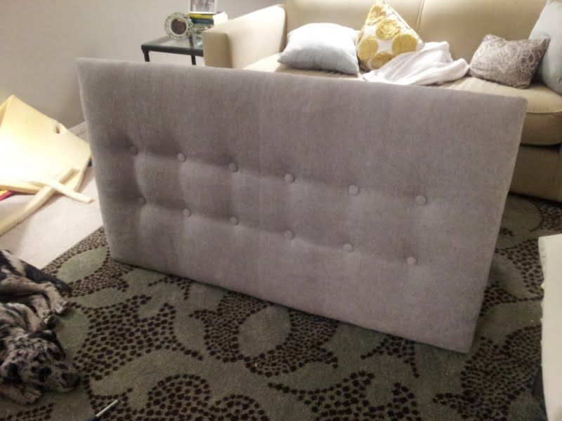 Easy Diy Upholstered Headboard U2014 Fresh Home Concept