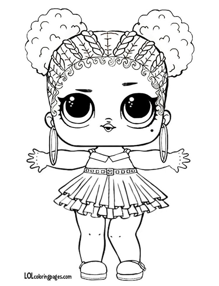 Purple Queen Lol Big Surprise Ball Coloring Page Angels Rhpinterest: Lol Dolls Coloring Pages Angel At Baymontmadison.com
