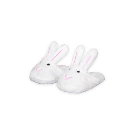 Bunny Slippers for American Girl Dolls 18 Inch Doll Clothes